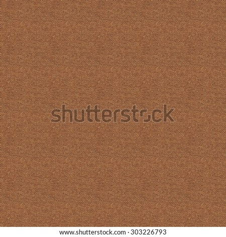 Seamless dark brown wearied fabric texture for design background, pattern is square with 491 pixel side