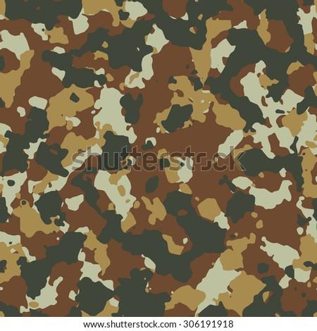 Seamless dark desert fashion camouflage pattern - stock photo