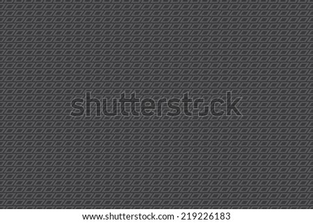 Seamless dark gray rhombus pattern