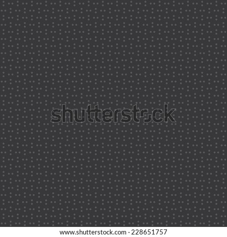 Seamless dark gray series of dots pattern