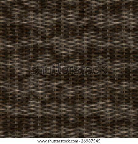 seamless dark wooden weave - stock photo