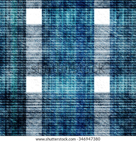 Seamless denim texture. Denim texture jeans - blue - stock photo