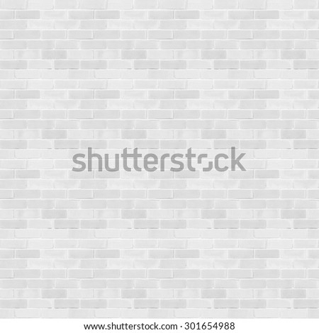 Seamless design vintage style light white grey tone brick wall detailed pattern textured  background: Seamless retro grungy brickwork masonry detail square backdrop in white gray color tone. - stock photo