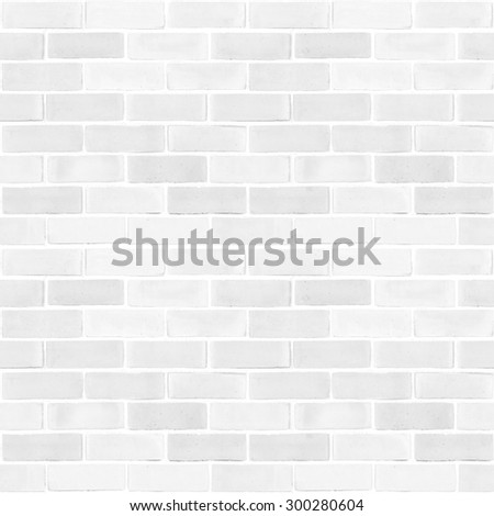 Seamless design vintage style white grey tone brick wall detailed pattern textured background: Seamless retro grungy brickwork masonry detail backdrop in light white gray color tone (square ratio)   - stock photo