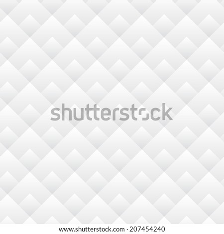 Seamless Diamond Pattern Black And White Lines - stock photo