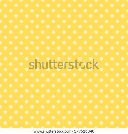 Seamless Dot Pattern - stock photo