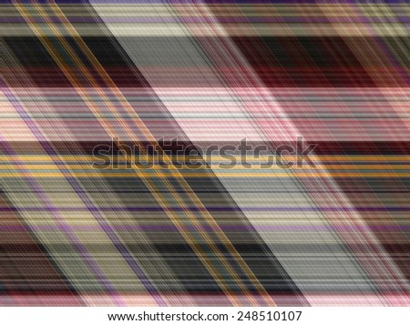 Seamless fabric plaid Cotton of colorful background and abstract texture