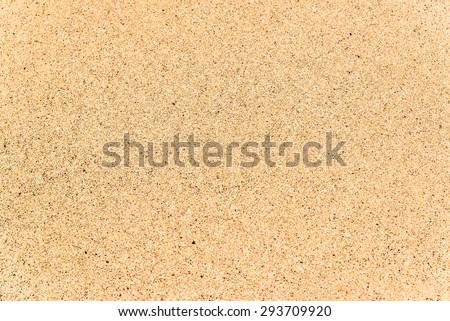 Seamless flat beach sand texture - stock photo