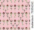seamless fleur - stock photo
