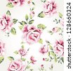 seamless flower pattern background - stock