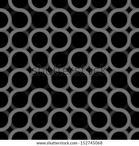 Seamless geometric dark pattern - grunge texture prototype for design - stock photo