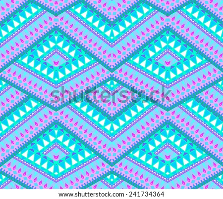 seamless geometric overlapping tiles pattern. small geometrical ornaments.  - stock photo