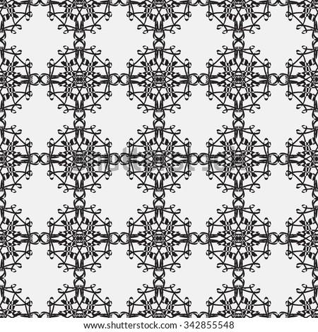 Seamless geometric pattern background. Minimalistic monochrome background for decoration, wallpaper and print. Jpeg. Rasterized image. - stock photo
