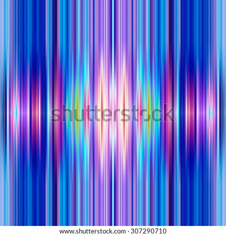 Seamless graduated blue and pink colours stripes. - stock photo