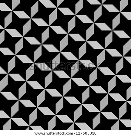 seamless graphic pattern illustration for design - stock photo