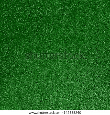 Seamless green texture with plastic effect. Empty surface background - stock photo