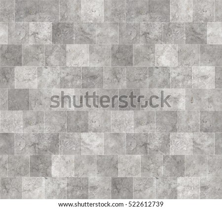 Seamless Grey Marble Stone Tile Texture With White Joint Line Stock Photo  Safe To Use
