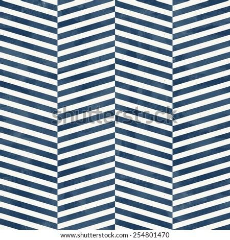 Seamless herringbone pattern on paper texture. Subtle geometric background - stock photo