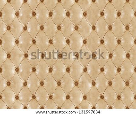 Seamless leather texture - stock photo
