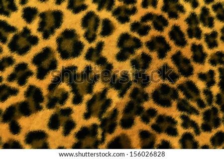 seamless leopard texture background  - stock photo
