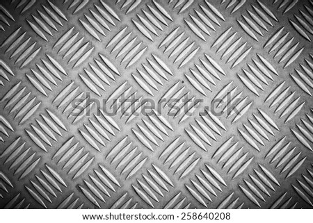 Seamless metal texture table of steel sheet stock photo