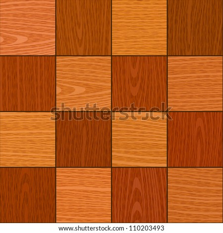 seamless oak square chess like parquet texture