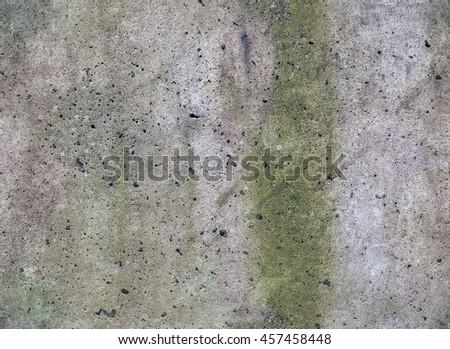 Seamless old weathered concrete wall texture. Seamless grungy wall background. - stock photo