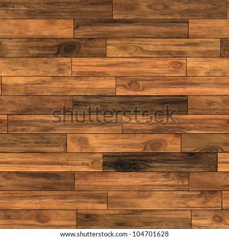 Seamless old wood texture illustration - stock photo