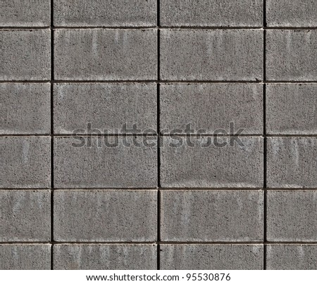 seamless or tileable concrete brick texture.