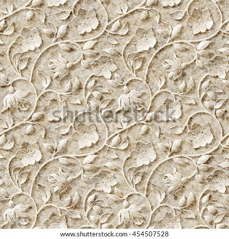 Seamless ornamental pattern.