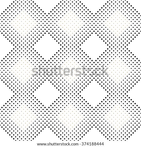 Seamless pattern. Abstract background in geometric style