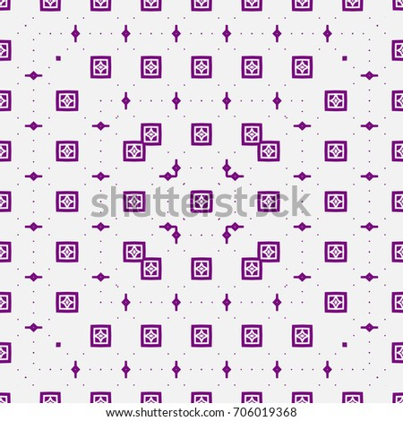 Seamless pattern. Bright, colorful square background. Abstract mosaic illustration