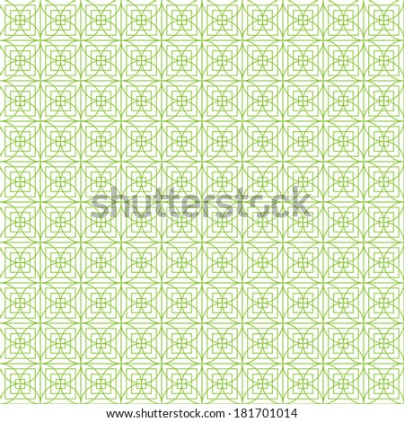Seamless pattern, for money design, currency, note, cheque, ticket, guilloche texture for registration of securities, certificate, or diploma. Raster. - stock photo