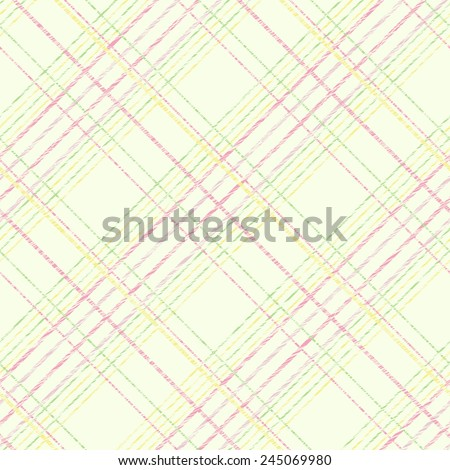 Seamless pattern for wallpaper, web page background, surface textures. Grungy tartan. Brush strokes. Pattern fills. Abstract backdrop. Simple checkered template. - stock photo