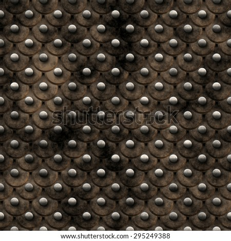 Seamless  pattern  of brown reptile leather