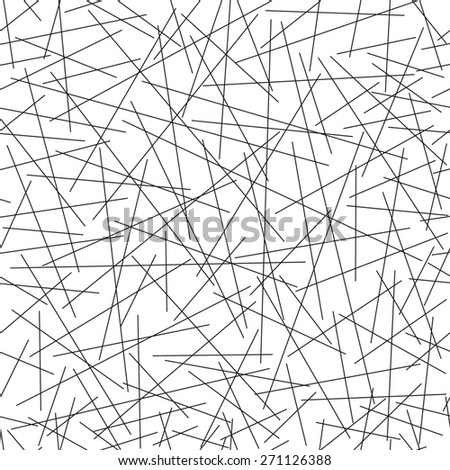 Seamless pattern of random  lines
