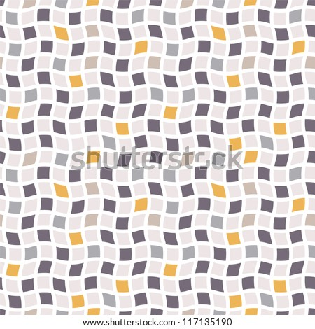 Seamless pattern. Raster abstract background. Cool cell structure - stock photo