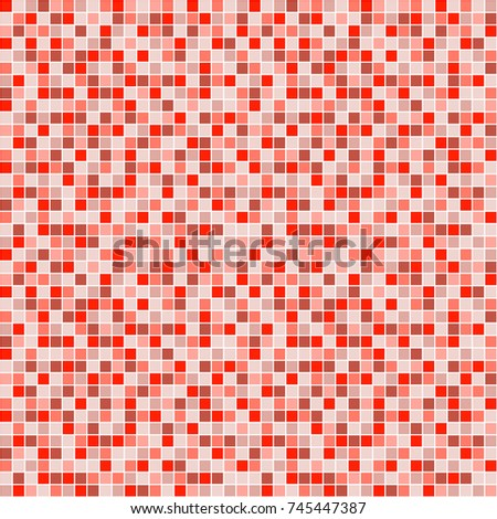 Seamless pattern with squares. Simple checkered graphic design. drawn background with little decorative elements. Print for wrapping, web backgrounds, fabric, decor, surface