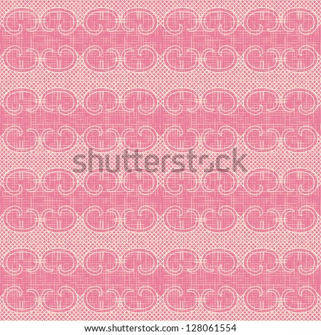 seamless pattern with waves - stock photo