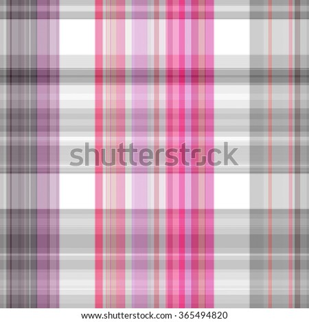 Seamless pink background of plaid pattern