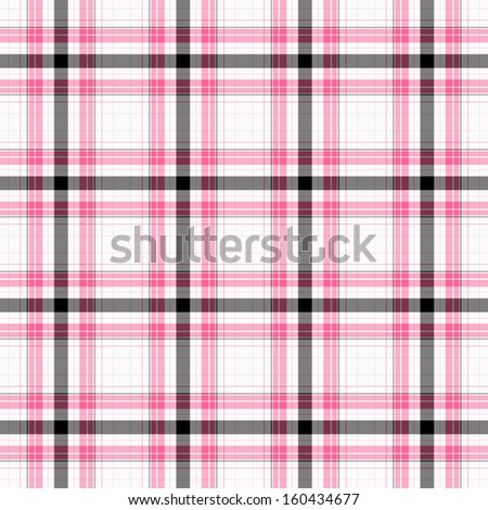 Seamless Pink Plaid