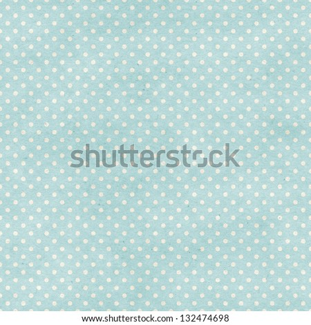 Seamless polka dots patten on paper texture. Basic shapes backgrounds collection - stock photo