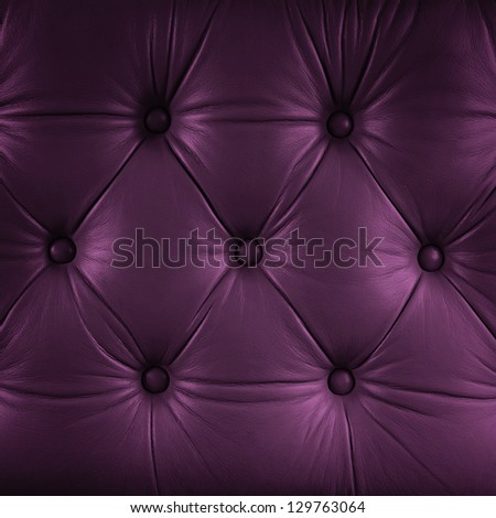 seamless purple leather texture - stock photo