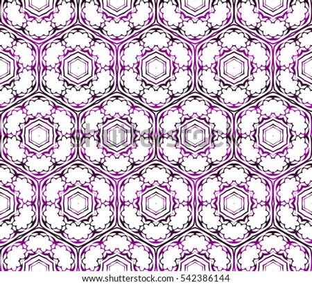 seamless Raster pattern. floral design. purple gradient color. interior decoration, wallpaper, presentation, fashion design