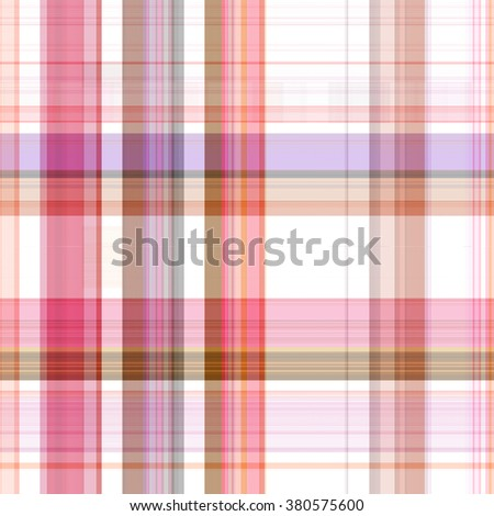 Seamless red background of plaid pattern