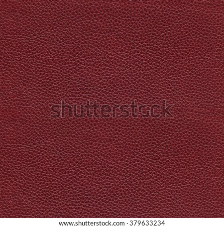 seamless red leather texture - stock photo