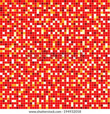 seamless red mosaic