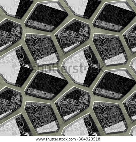 beautiful square kitchen island design with sink silver gloss brown wooden table   Granite Floor Stock Photos, Royalty-Free Images & Vectors ...