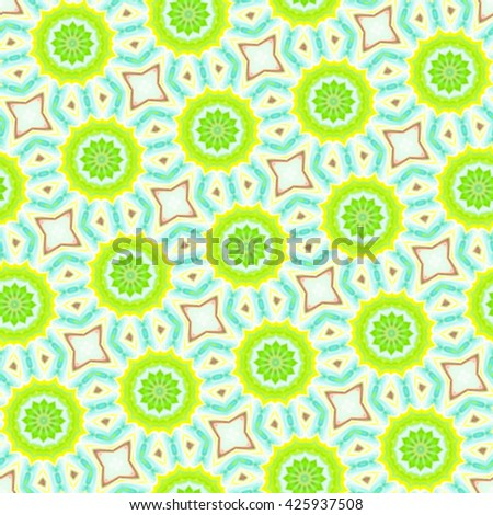 Seamless repeating colorful slanting kaleidoscopic illustration for background, design and wallpapers