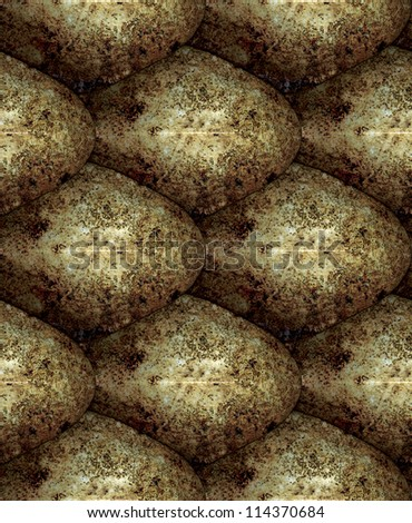 seamless repeating texture snake skin tiling - stock photo